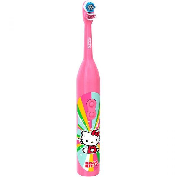 Bàn chải pin Oral-B Hello Kitty cho bé