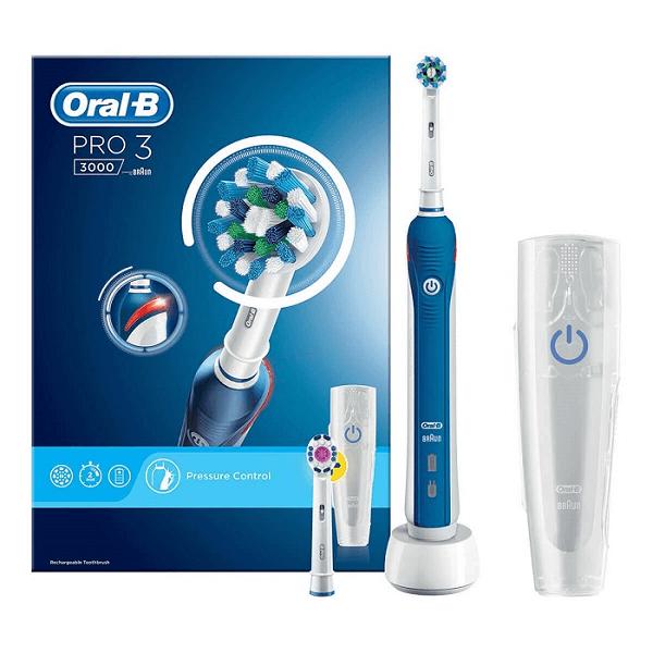 Bàn chải đánh răng điện Oral-B Pro 3 3000
