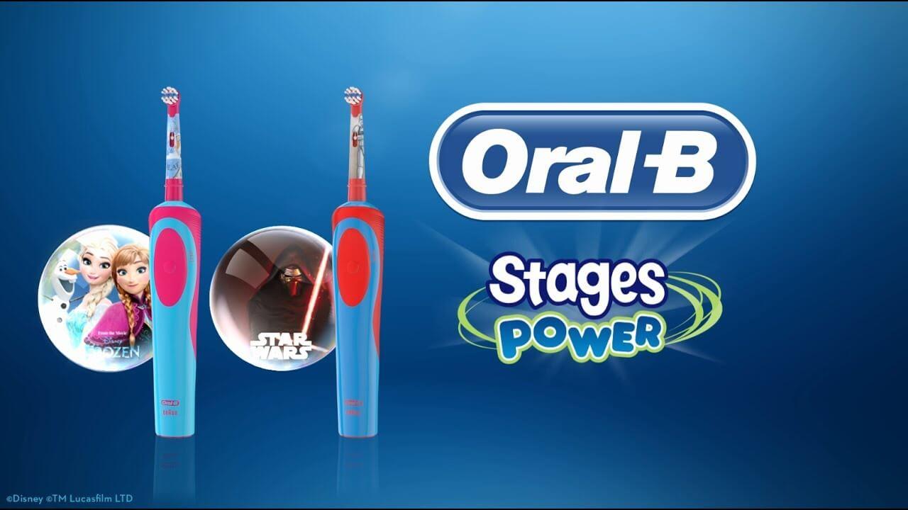 Bàn chải đánh răng điện Oral-B Kids