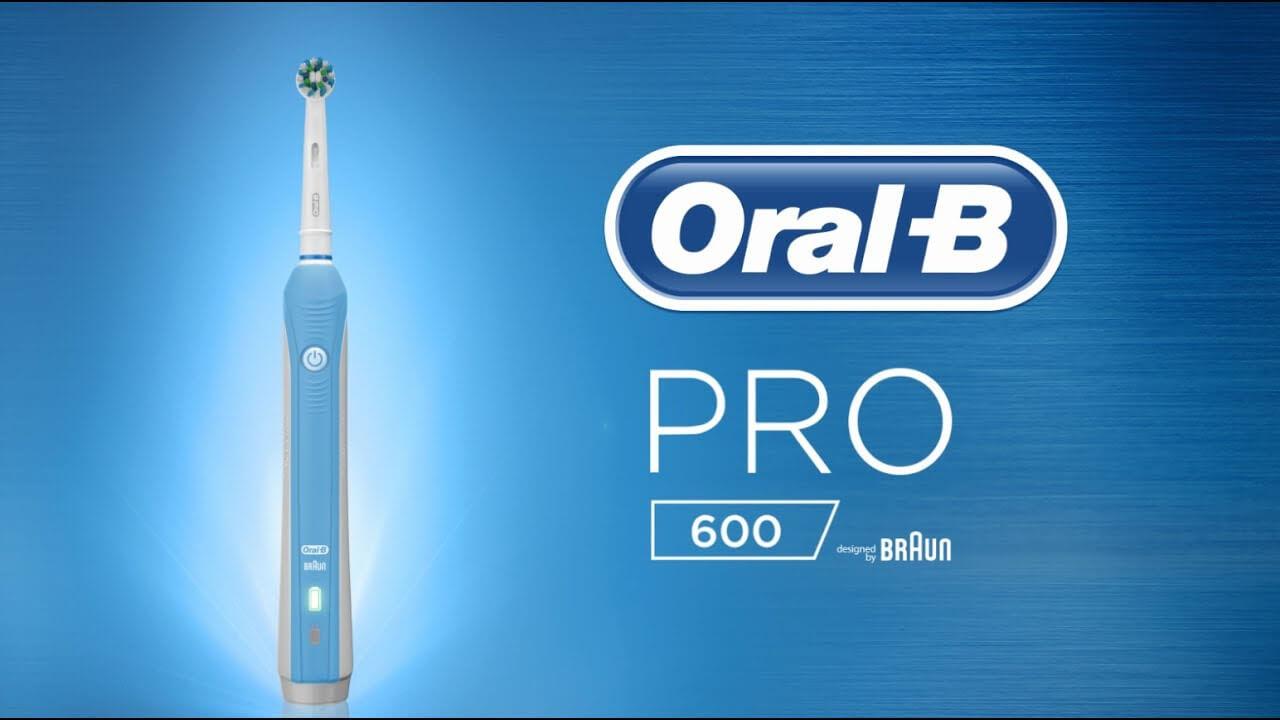 Bàn chải đánh răng điện Oral-B Pro 600
