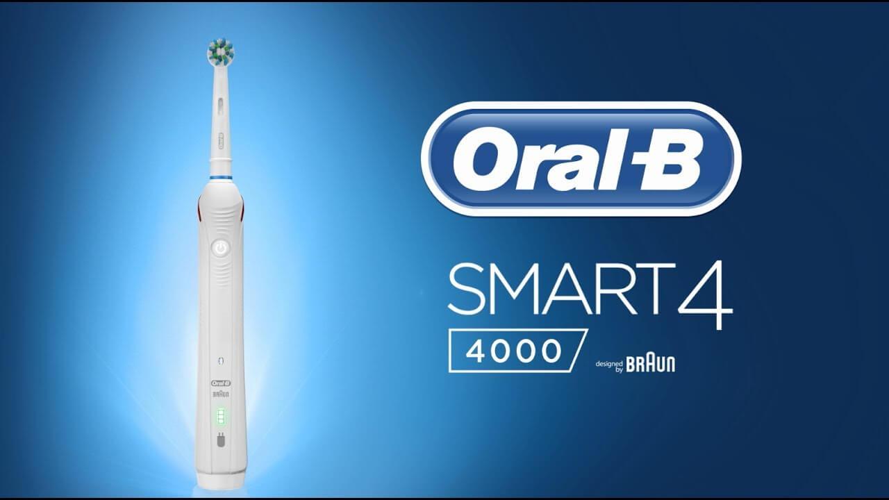 Bàn chải đánh răng điện Oral-B Smart 4 4000